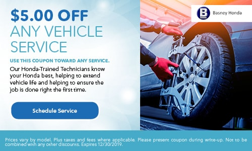 $5 Off Any Vehicle Service Special