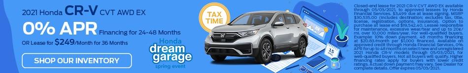 2021 Honda CR-V CVT AWD EX - March update