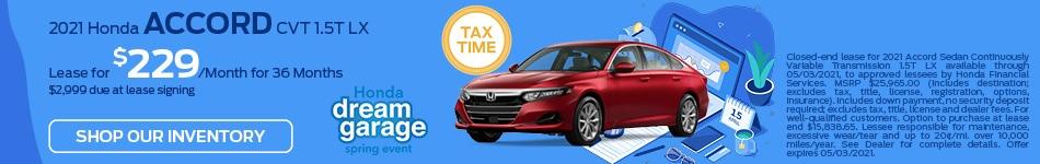 2021 Honda Accord CVT 1.5T LX - March Update