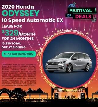 2020 Honda Odyssey - Sept