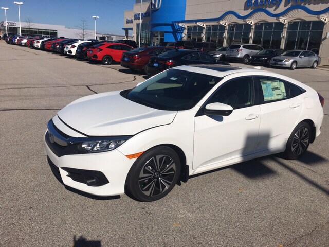 Honda Civic Exl >> New 2018 Honda Civic For Sale At Basney Honda Vin Jhmfc1f70jx021224