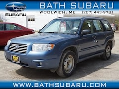 Used 2007 Subaru Forester 2.5 X SUV in Woolwich, ME