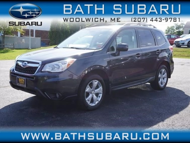 Used  2014 Subaru Forester 2.5i Touring SUV in Woolwich, ME