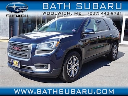 Used 2016 Gmc Acadia Slt 1 For Sale In Woolwich Me Vin