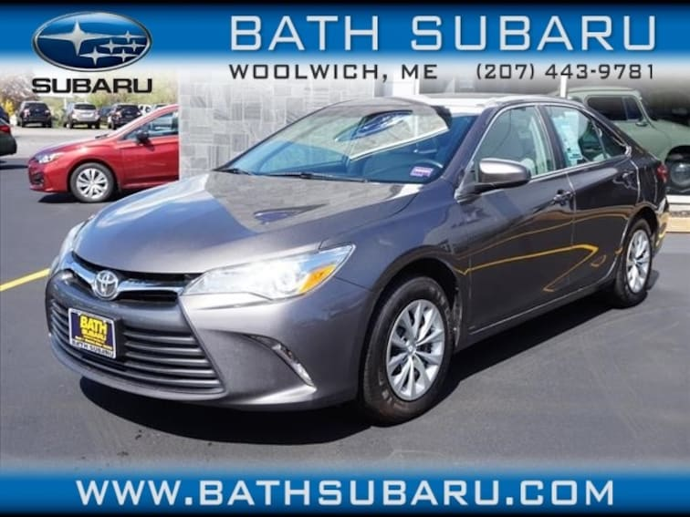 Toyota Camry Used >> Used 2016 Toyota Camry Le For Sale In Woolwich Me Vin 4t1bf1fk5gu141702