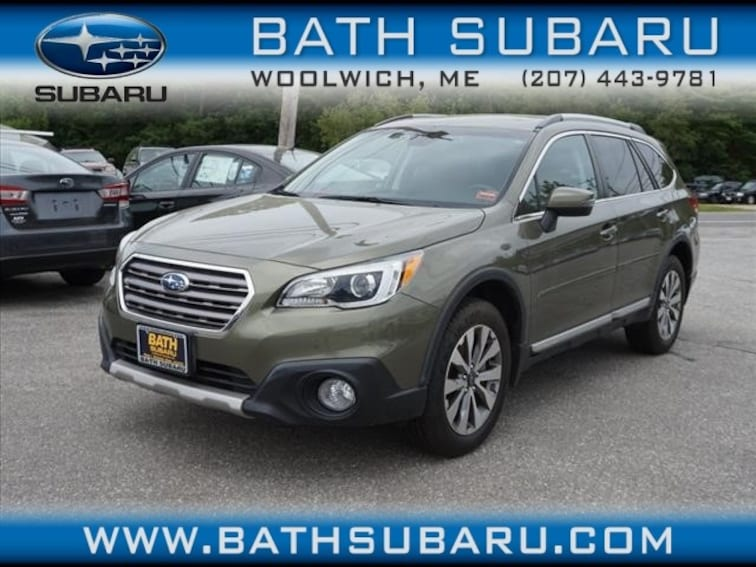 Used  2017 Subaru Outback 2.5i Touring with Starlink SUV in Woolwich, ME