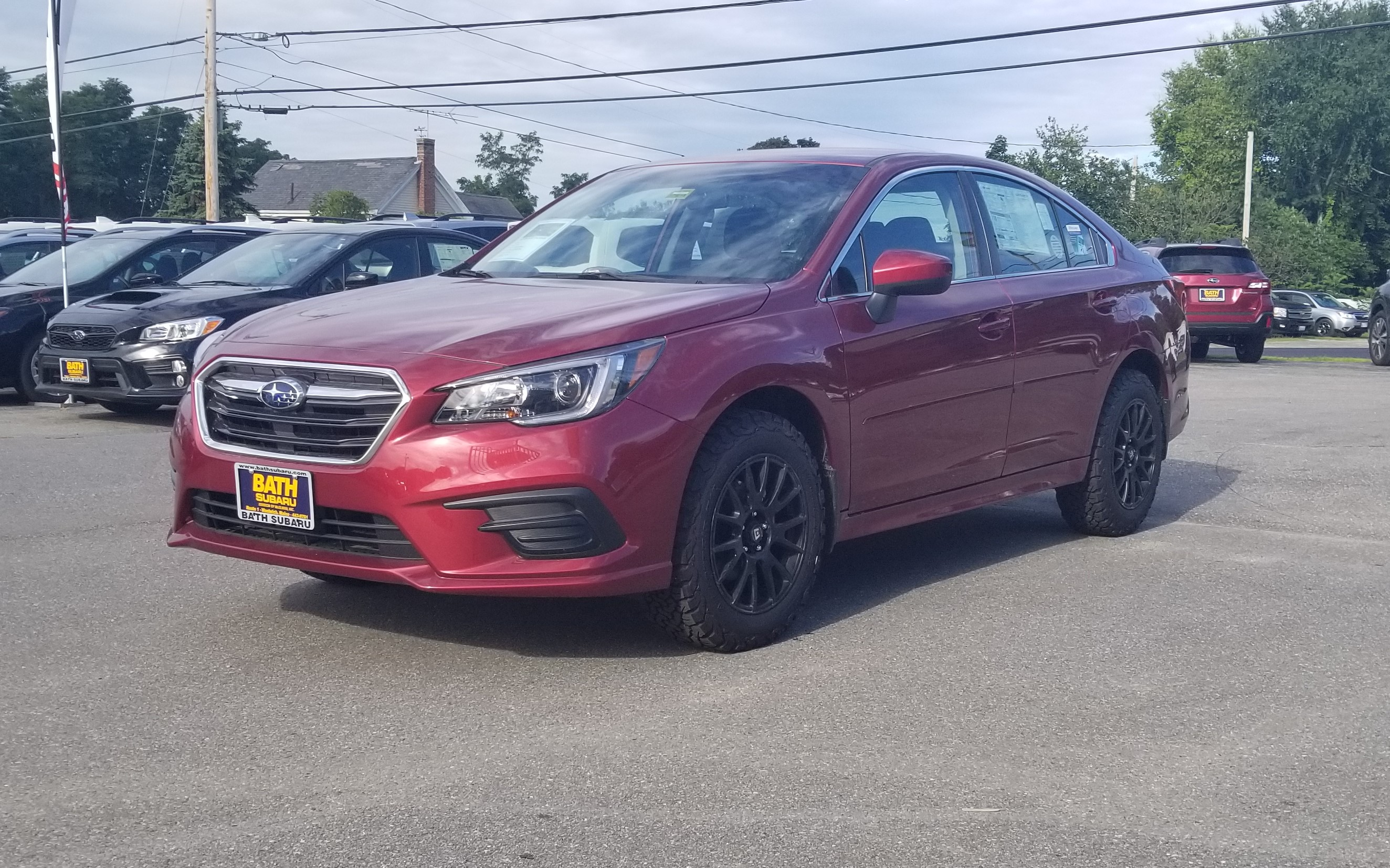 New 2018 Subaru Legacy 2.5i Premium with Adventure Package Sedan Portland Maine