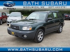 Used 2004 Subaru Forester 2.5 X SUV in Woolwich, ME