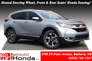 2019 Honda CR-V Touring AWD! Panoramic Moonroof! Leather!