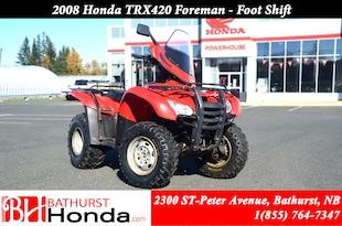 2008 Honda TRX420 Foreman Foot Shift