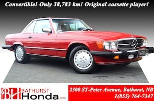 1988 Mercedes-Benz 560SL V8! Palomino Leather! North America Bumper!