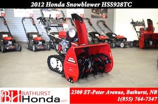 2012 Honda HSS928CT