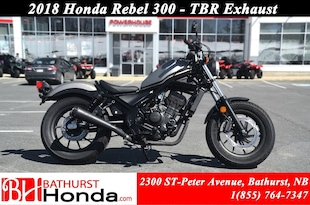 2018 Honda Rebel 300 - ABS Avant