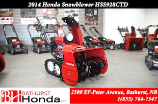2014 Honda HSS928CT