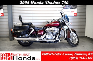 2004 Honda Shadow 750 avant