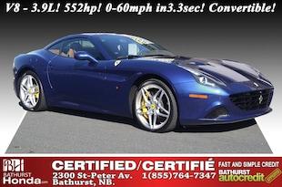 2017 Ferrari California T CALIFORNIA T - V8 - 3.9L, 552hp! 0-60mph in 3.3sec