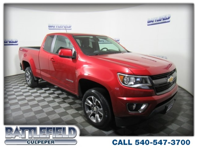 2016 Chevrolet Colorado Z71 Truck Extended Cab