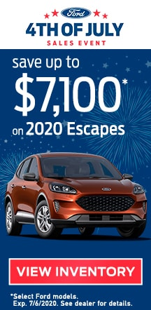 Battlefield Ford 4th of July Sales Event
