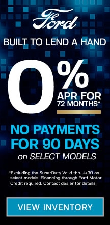 0% for 72 Months or 6 months of Payment Relief