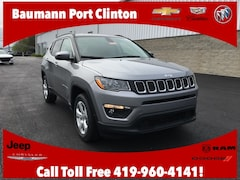 New Chrysler Dodge Jeep Ram 2019 Jeep Compass LATITUDE 4X4 Sport Utility 3C4NJDBB4KT761077 for sale in Port Clinton, OH