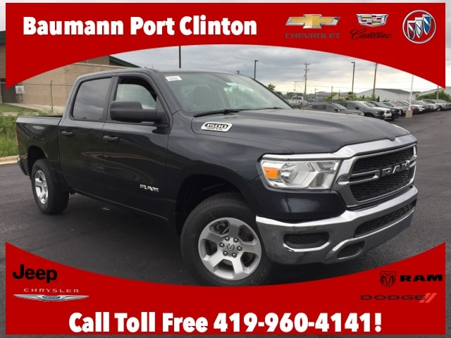 Featured new 2019 Ram 1500 TRADESMAN CREW CAB 4X4 5'7 BOX Crew Cab for sale in Port Clinton, OH