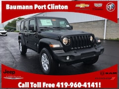 New Chrysler Dodge Jeep Ram 2019 Jeep Wrangler UNLIMITED SPORT S 4X4 Sport Utility 1C4HJXDG2KW646429 for sale in Port Clinton, OH