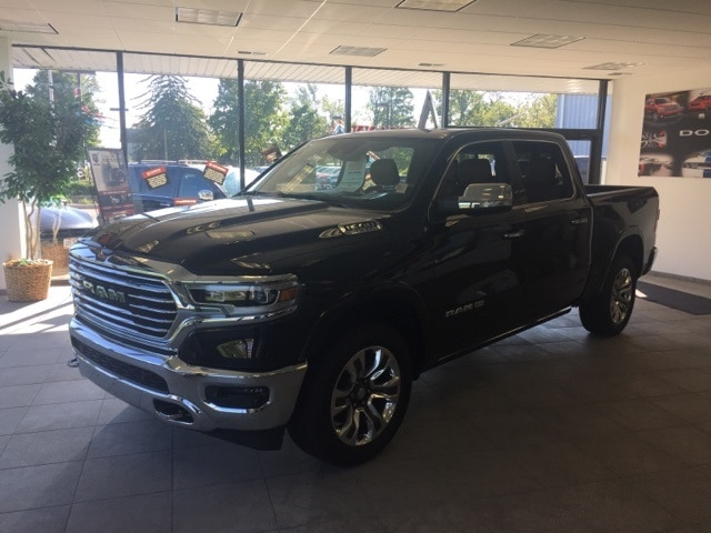 Featured 2019 Ram All-New 1500 LARAMIE LONGHORN CREW CAB 4X4 5'7 BOX Crew Cab for sale in Fremont, OH