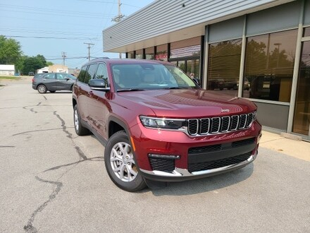 Featured New 2021 Jeep Grand Cherokee L LIMITED 4X4 Sport Utility for sale in Fremont, OH