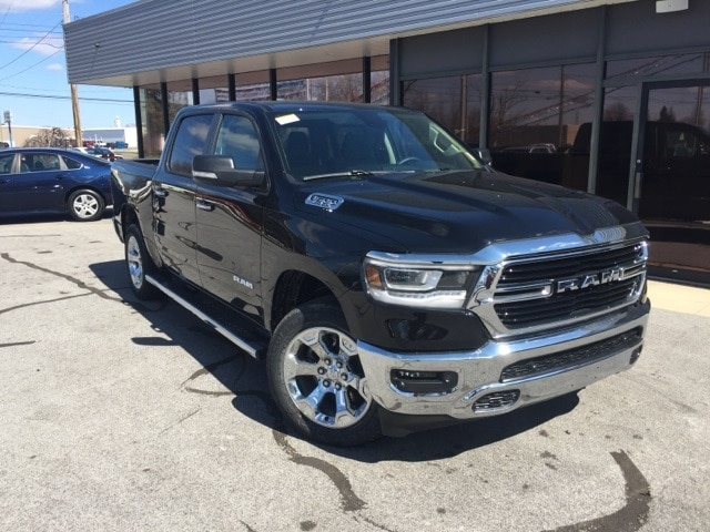 Featured New 2019 Ram 1500 BIG HORN / LONE STAR CREW CAB 4X4 5'7 BOX Crew Cab for sale in Fremont, OH