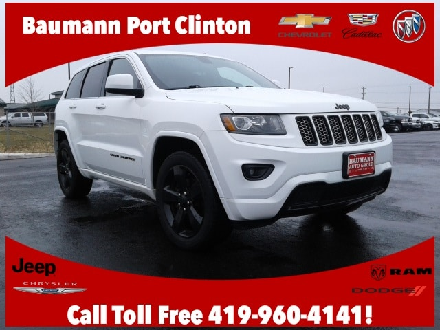 Featured Used 2015 Jeep Grand Cherokee Laredo 4x4 SUV for sale in Fremont, OH