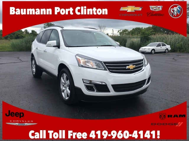 Featured Used 2017 Chevrolet Traverse LT w/1LT SUV for sale in Fremont, OH