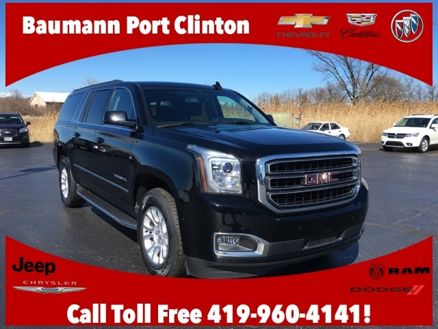 Featured Used 2016 GMC Yukon XL SLE SUV for sale in Fremont, OH