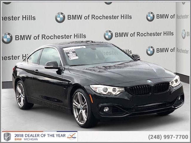 certified used 2016 BMW 428i xDrive SULEV Coupe shelby township MI