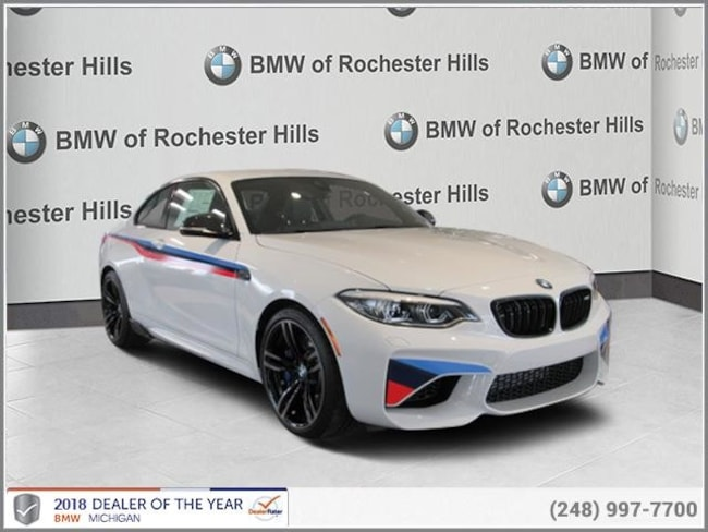new 2018 BMW M2 Coupe in Shelby MI