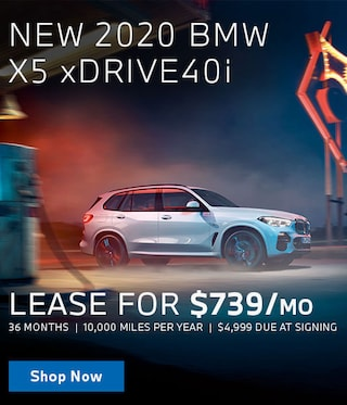 New X5 Lease Offer
