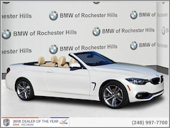 New 2019 BMW 430i xDrive Convertible for Sale near Detroit