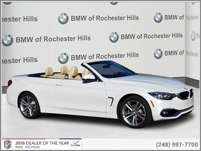 new 2019 BMW 430i xDrive Convertible in Shelby MI