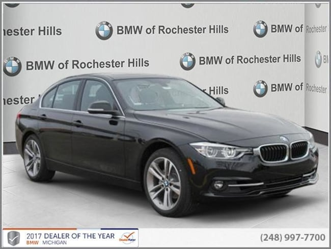 new 2018 BMW 330i xDrive Sedan in Shelby MI
