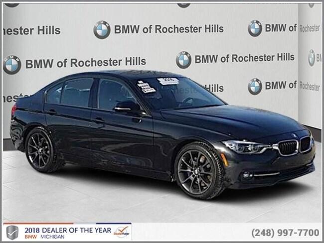 certified used 2016 BMW 328i Sedan shelby township MI