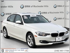 certified pre-own  2015 BMW 328i xDrive w/SULEV Sedan forsale near detroit