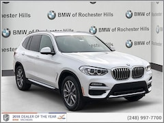 New 2019 BMW X3 xDrive30i SAV for Sale near Detroit