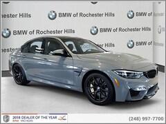 New 2018 BMW M3 Sedan for Sale near Detroit