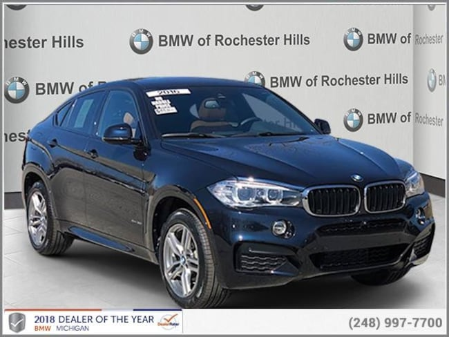 certified used 2016 BMW X6 xDrive35i Sports Activity Coupe shelby township MI