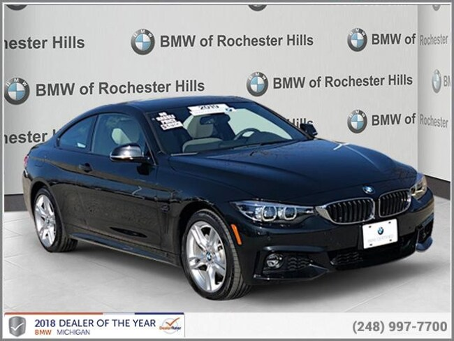 certified used 2019 BMW 430i xDrive Coupe shelby township MI