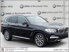 New 2019 BMW X3 xDrive30i SAV for Sale near Detroit
