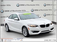 2014 BMW 228 Coupe for sale in Shelby Township MI
