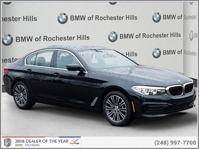 new 2019 BMW 530i xDrive Sedan in Shelby MI