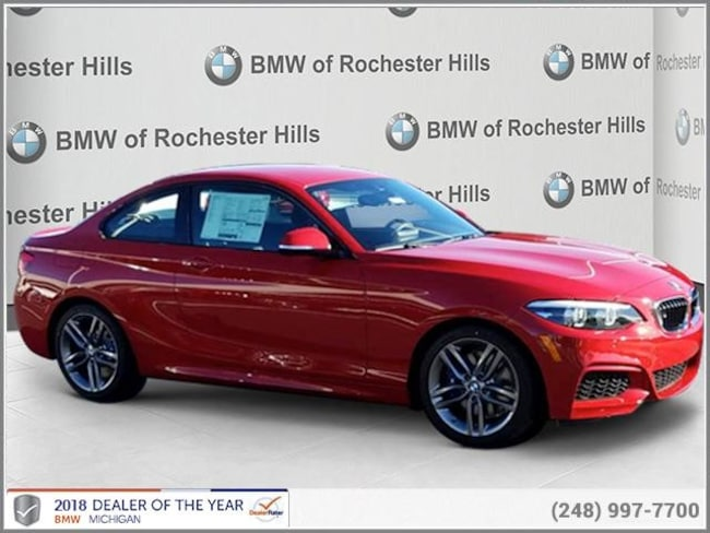 new 2019 BMW 230i Coupe in Shelby MI