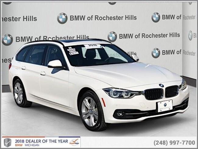 certified used 2018 BMW 330i xDrive SportsWagon shelby township MI