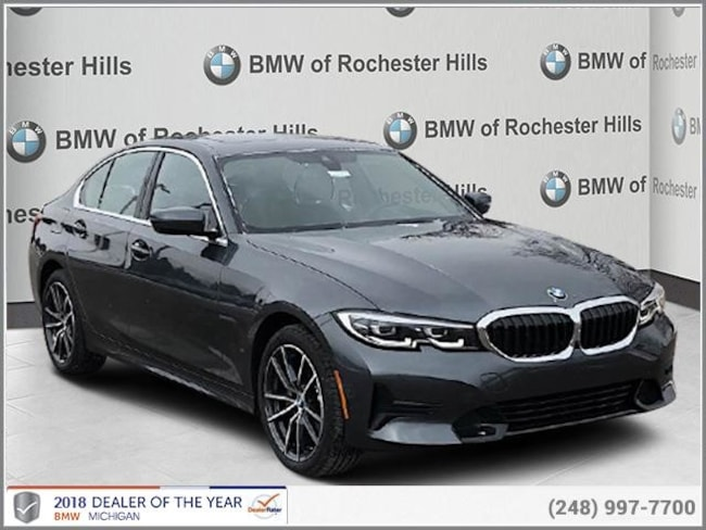 new 2019 BMW 330i xDrive Sedan in Shelby MI